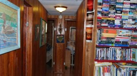 Hall and Living Room bookshelf